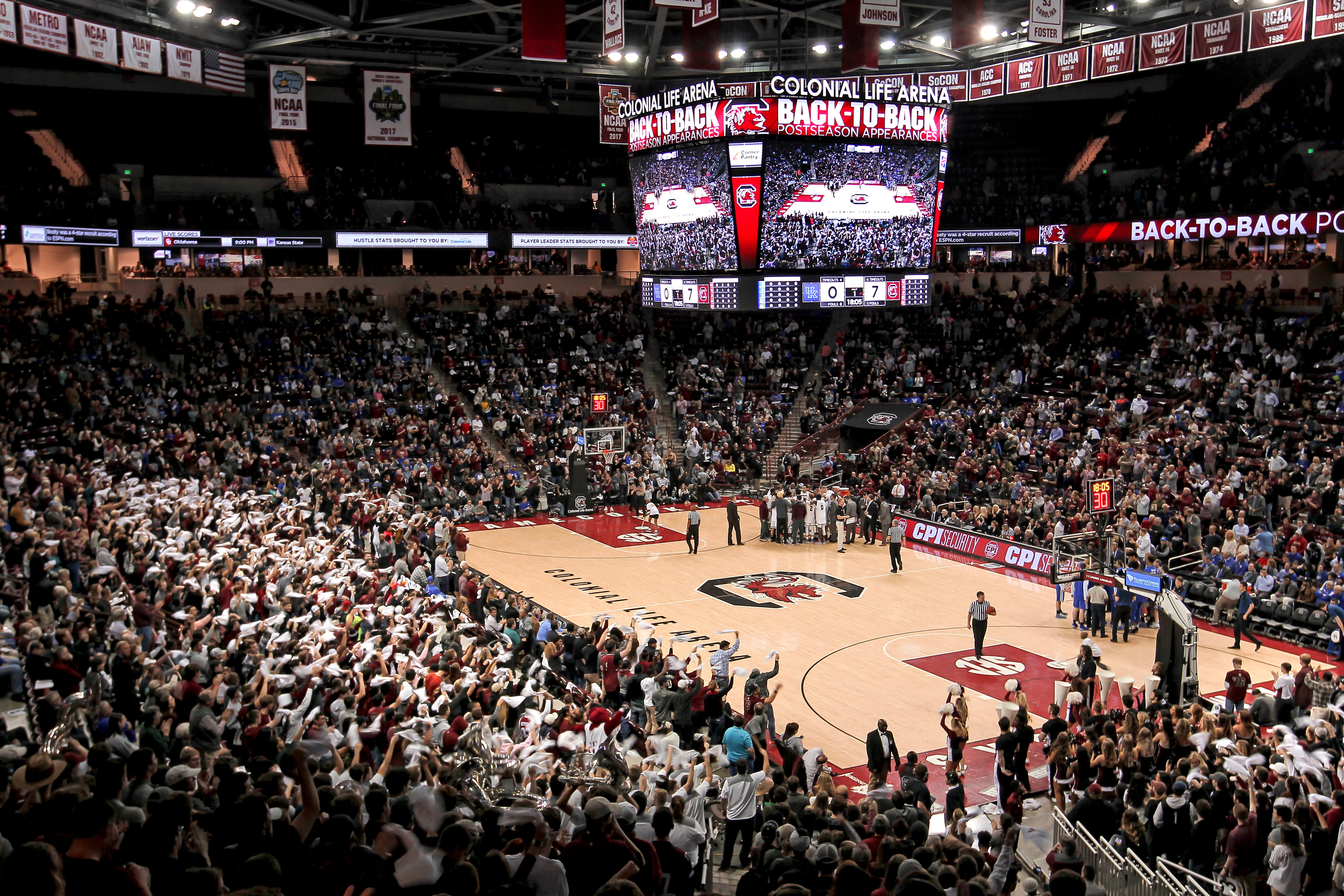 Gamecock Men's Basketball | Colonial Life Arena