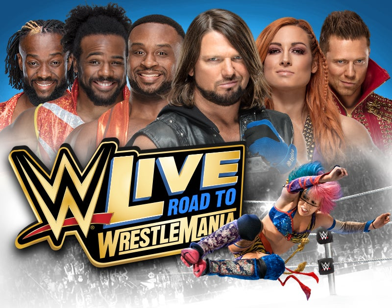 More Info for WWE LIVE ROAD TO WRESTLEMANIA