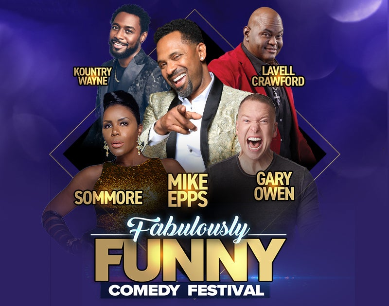 More Info for Fabulously Funny Comedy Festival