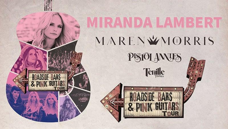 Miranda Lambert Tour Art